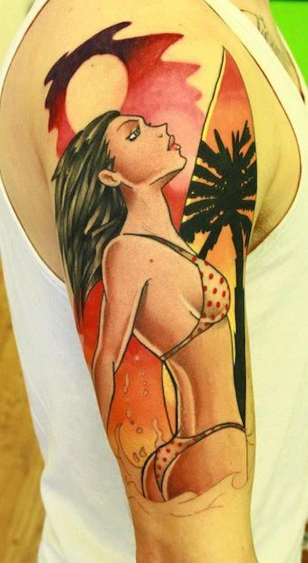 surf tattoos designs (45)