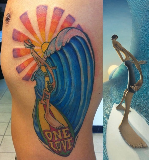 surf tattoos designs (7)