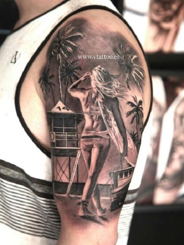 surf tattoos designs (76)
