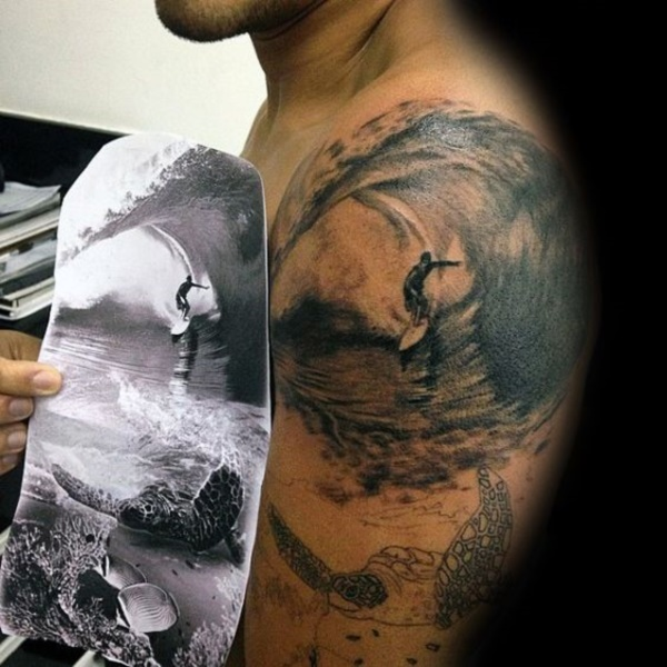 surf tattoos designs (78)