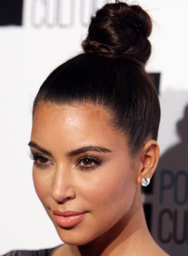 top knot bun Hairstyles (39)