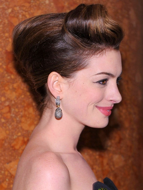 top knot bun Hairstyles (4)