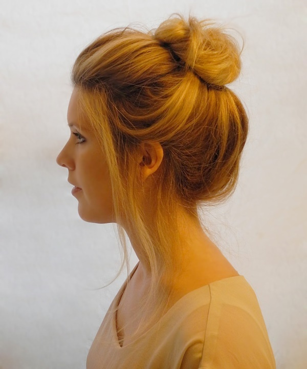 top knot bun Hairstyles (47)