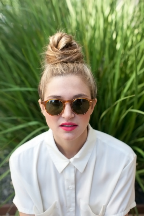 top knot bun Hairstyles (64)