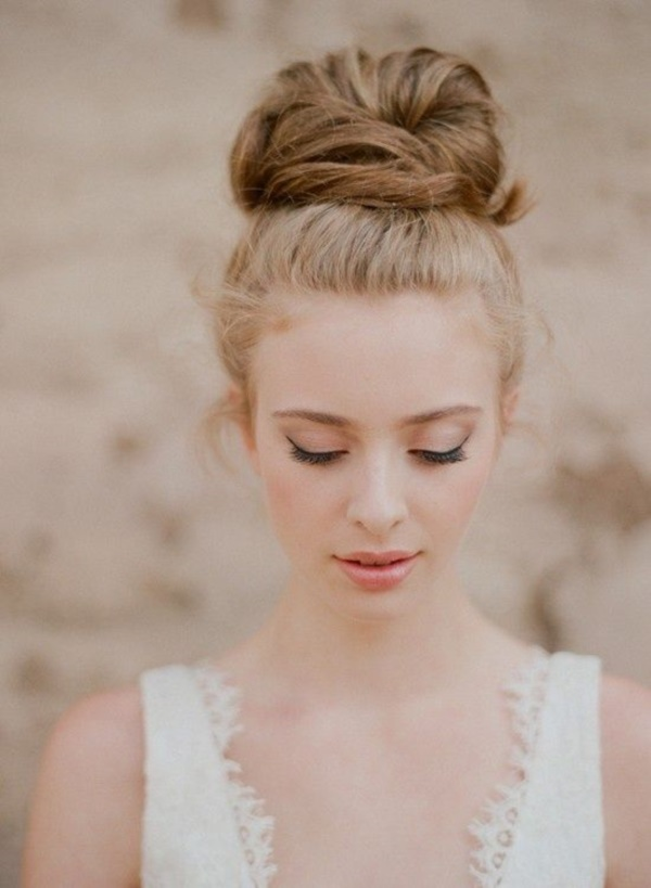 top knot bun Hairstyles (67)