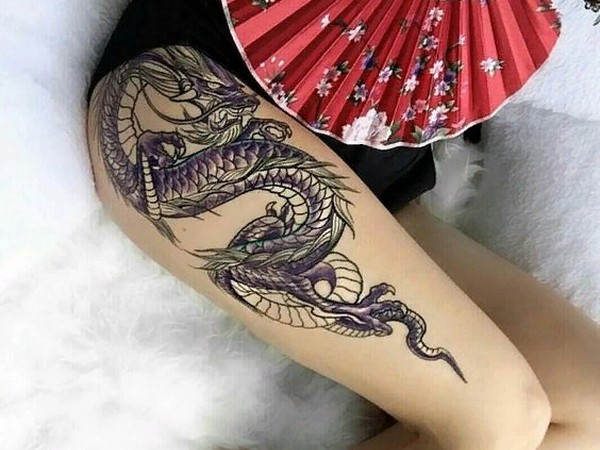 Lower Body Tattoos: Popular Female Tattoo Designs For The Lower Body And Legs